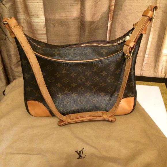 Louis Vuitton Handbags - Louis Vuitton Monogram Boulonge Shoulder Bag/Purse